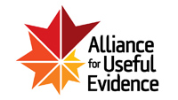 alliance for useful evidence logo