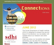 SDHI Connections Newsletter - June 2012
